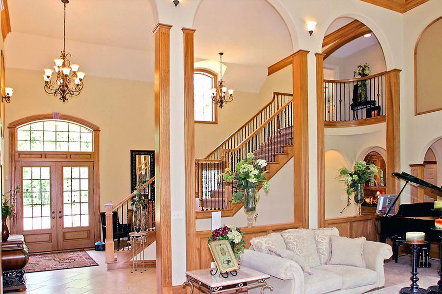 Foyer Luxury Opening Hours : Luxury custom home galleries by steven moore homes